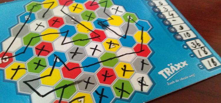 Träxx – ruimtelijk inzicht, snelheid, strategie en rekenen