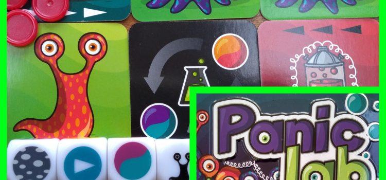 Panic Lab – vormen en kleuren veranderen razendsnel. Focus!