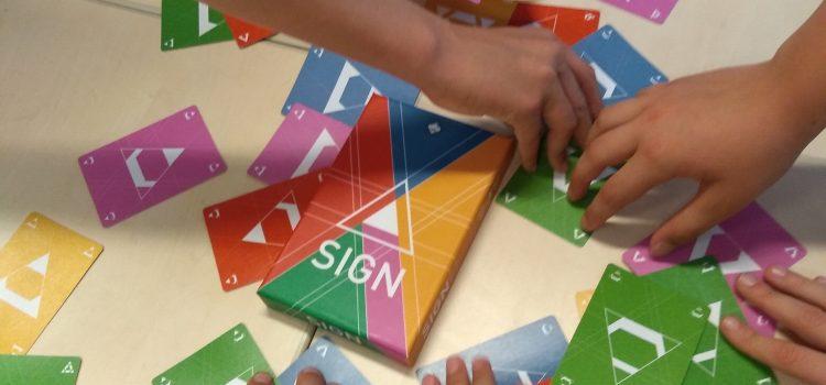 Sign – een dynamisch denkspel