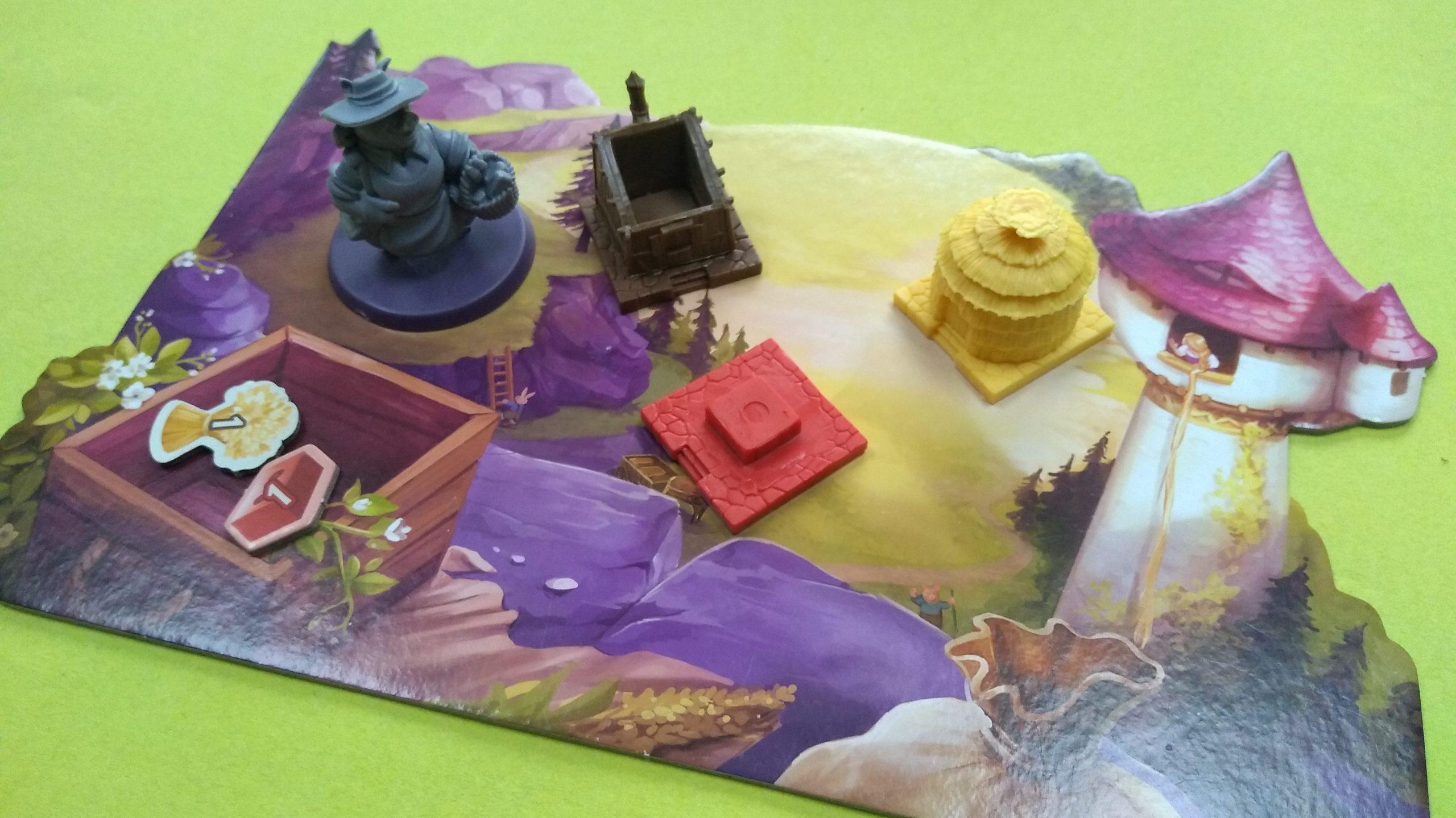 Speelbord van Grimm Forest